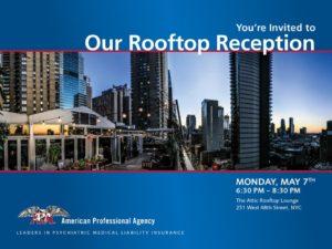 APA Annual Reception Invite 2018