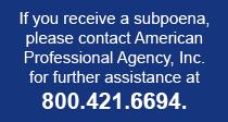 Subpoena Info