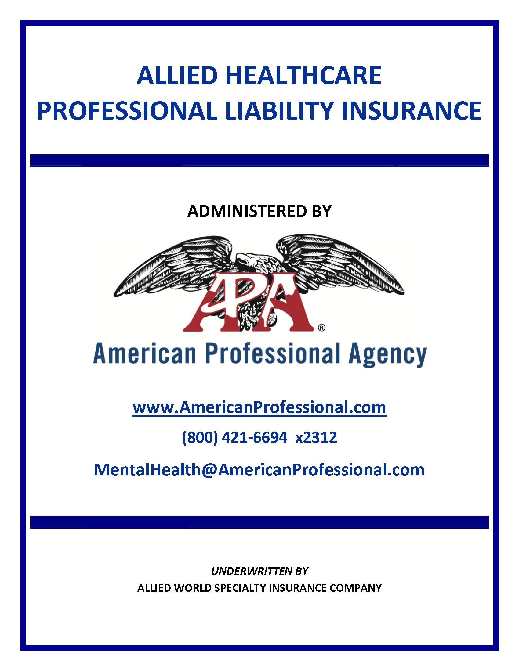 Rehabilitation Counselor American Professional Agency Inc