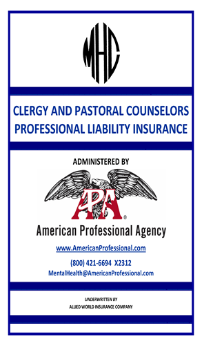 Clergy & Pastoral Counselor Brochure