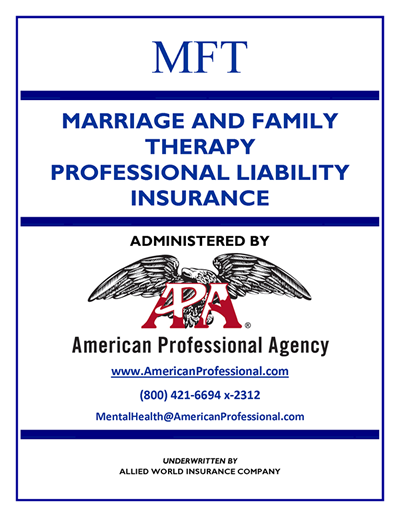 Marriage & Family Brochure