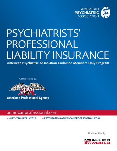 APA Psychiatry Brochure (Allied World)