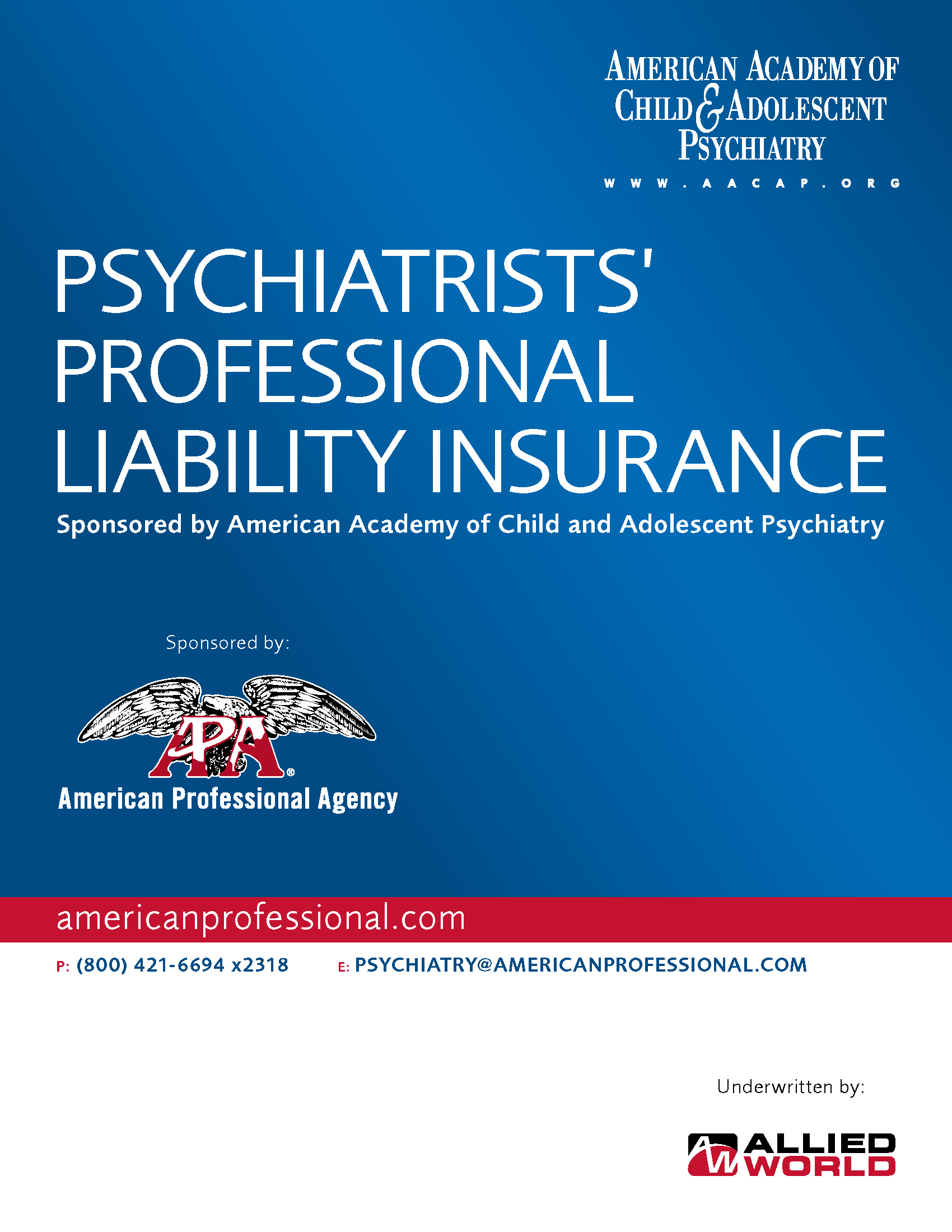 Psychiatrists_Brochure_AACAP