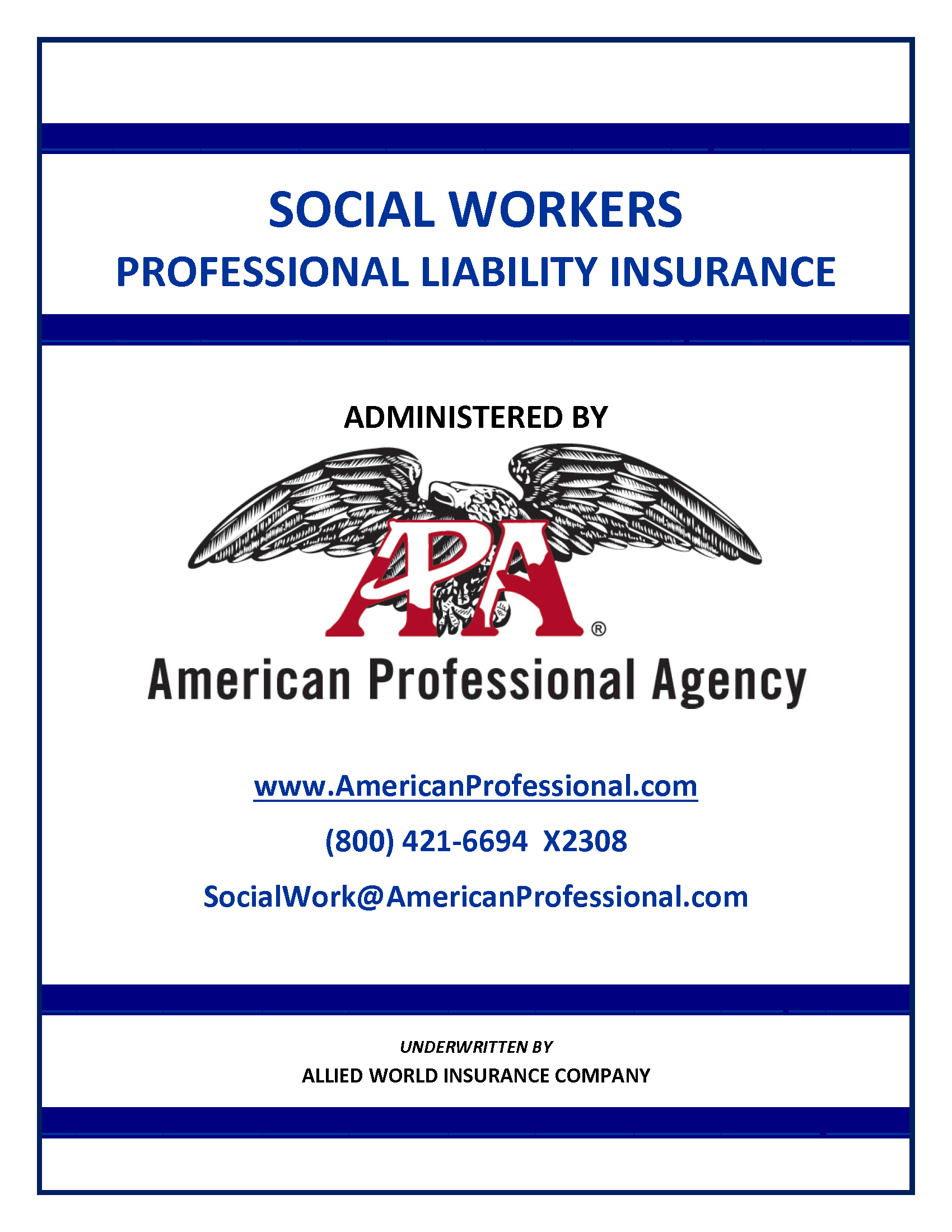 social worker no association membership or dues required policies
