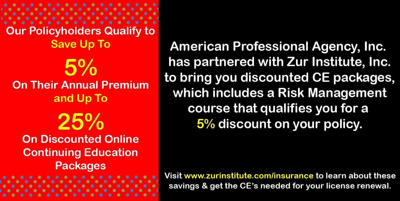 Zur Institute Continuing Education for mental Health